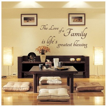 vinilos textos Love of Family