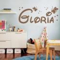 Vinilos Nombre Gloria
