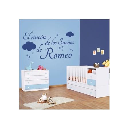 Pegatinas de pared El Rincón de los Sueños de Romeo