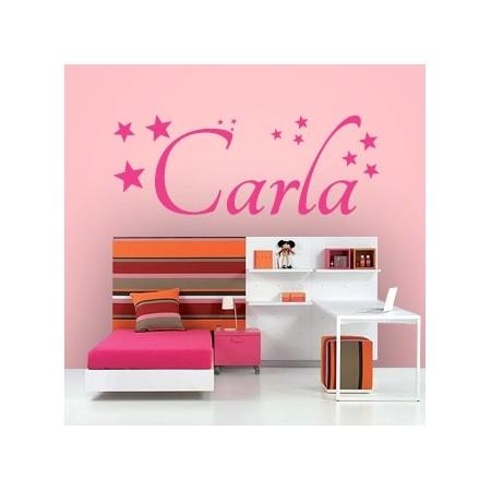 vinilos con nombre Carla