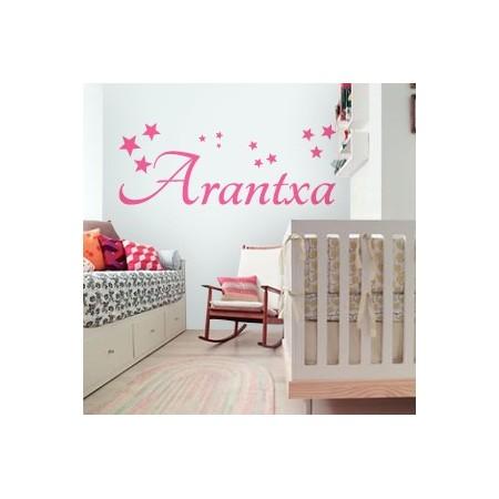 vinilos decorativos nombre Arantxa