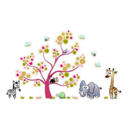 Vinilos decorativos Infantiles animalitos