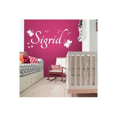 Vinilos decorativos Nombre Sigrid