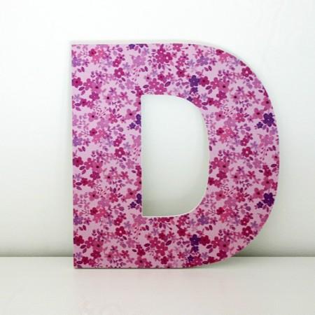 Letras Decorativas infantiles D