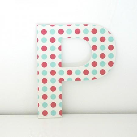 Letras Decorativa infantiles P