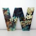 Letras Decorativas infantiles W