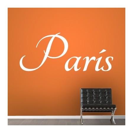 vinilos con nombre París