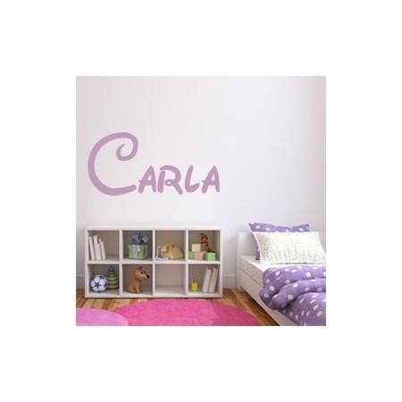Vinilos decorativos Nombre Carla