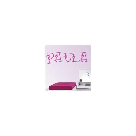 vinilos decorativos Paula