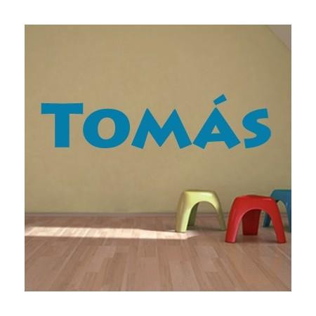 vinilos decorativos nombre Tomás