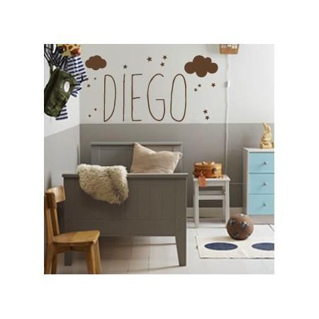Vinilos Nombre Diego