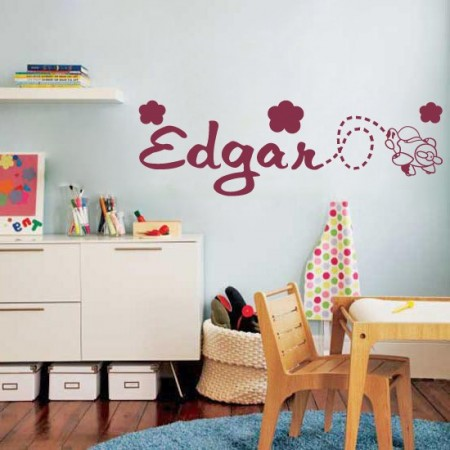Vinilos nombre Edgar
