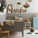 Vinilos decorativos Nombre Aarón