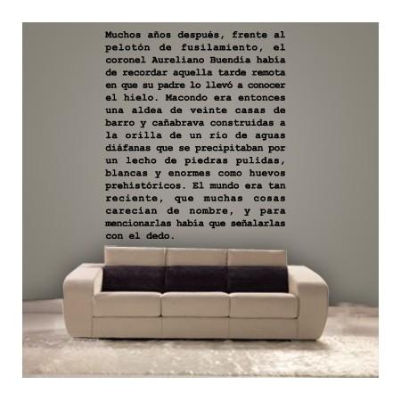 vinilos Texto García Márquez