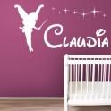 Vinilos Hada nombre Claudia