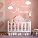 Vinilos infantiles Dulces Sueños, Princesa