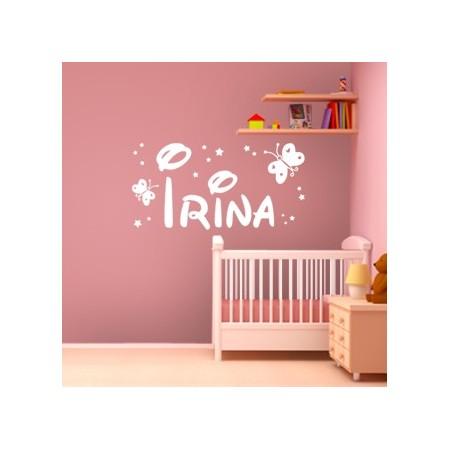 Vinilos decorativos Nombre Irina