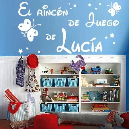 vinilos infantiles El Rincón de Juego de Lucía