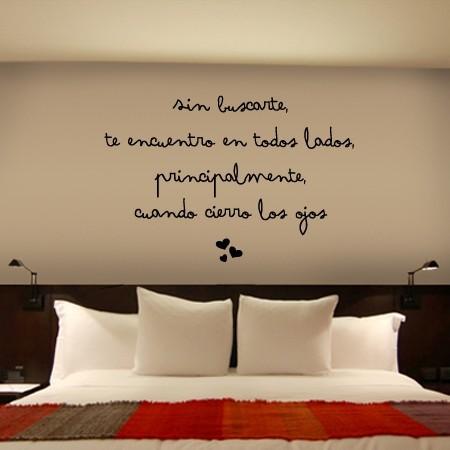 Vinilo Frase Amor Dqcolor Es