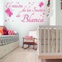 Pegatinas paredes infantiles El Rincón de los Sueños de Blanca
