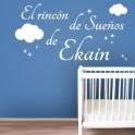 vinilos nombres El Rincón de los Sueños de Ekain