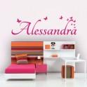 Vinilos Nombre Alessandra