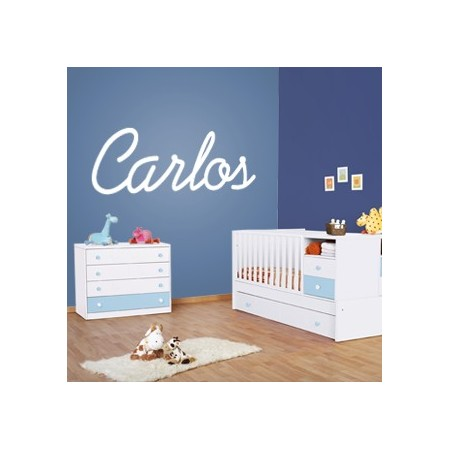 Vinilos nombre Carlos