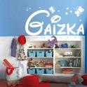 Vinilos decorativos nombre Gaizka