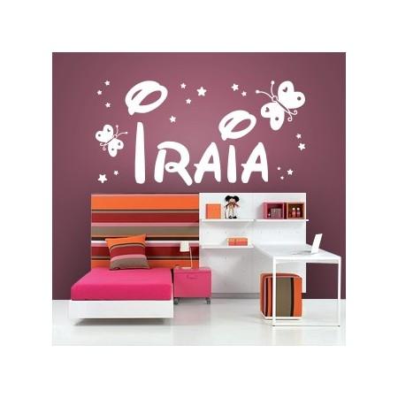 Vinilos nombre Iraia