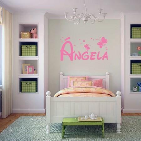 vinilos nombre Ángela