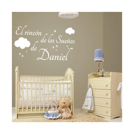 pegatina pared El Rincón de los Sueños de Daniel