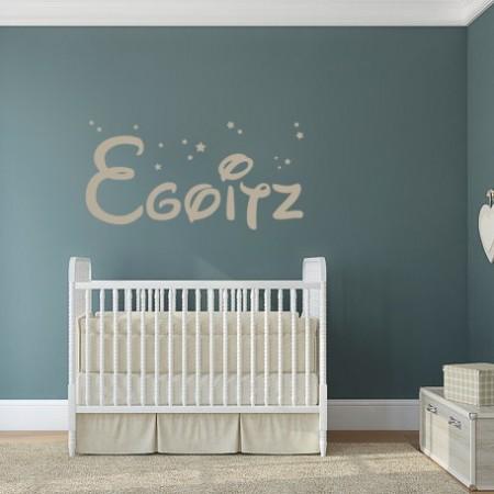 vinilo decorativo nombre Egoitz