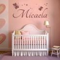 Vinilos nombre Micaela