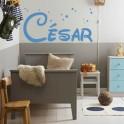 Vinilo nombre César