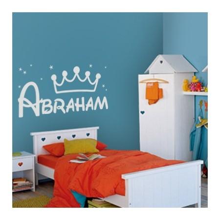 vinilos nombre Abraham
