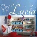 Vinilo nombre Lucía