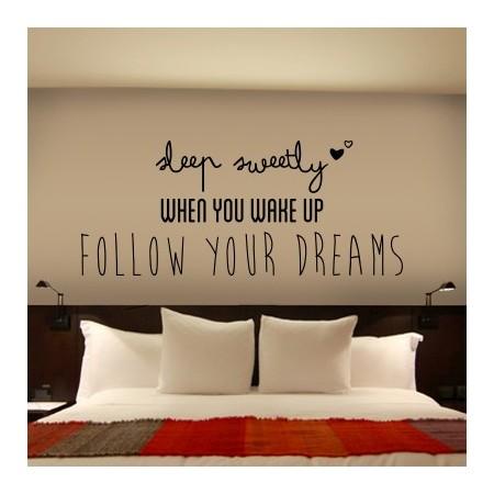 Frase en Inglés sobre sueños