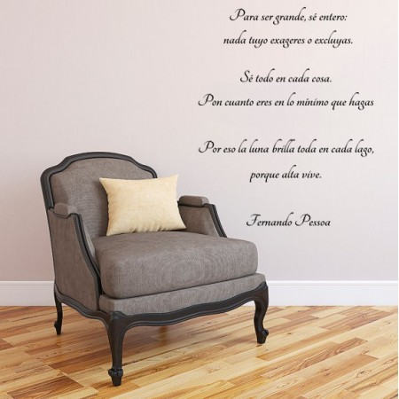 Vinilos Frase F. Pessoa