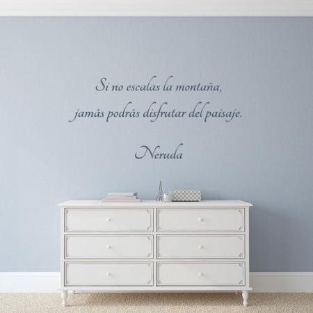 vinilos frase Neruda