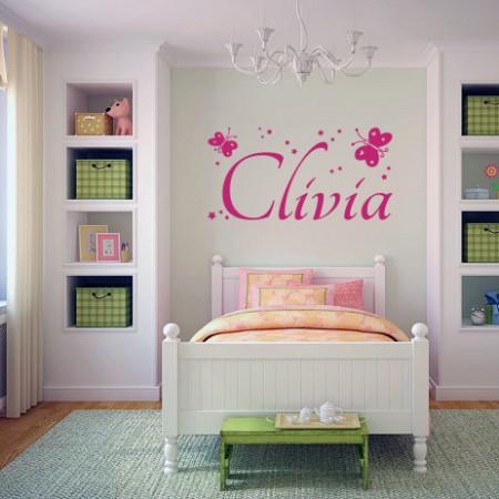 Vinilos nombre Clivia