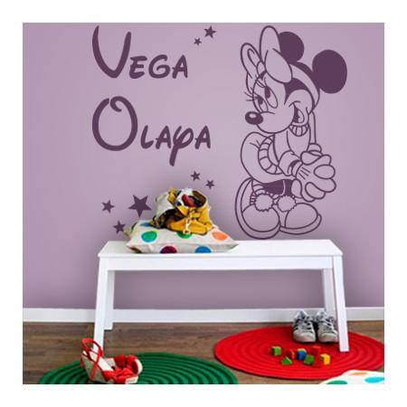 Vinilos Nombres Vega y Olaya