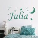 Vinilo nombre Julia