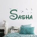 Vinilo nombre Sasha