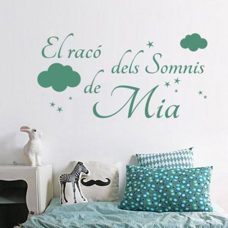 vinilos El Racó dels somnis de Mia