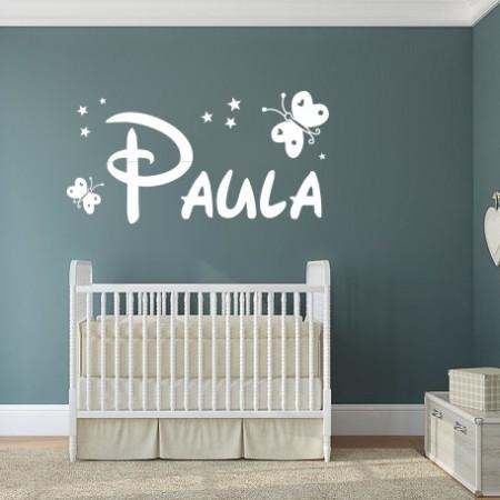 Nombre en vinilo: Paula