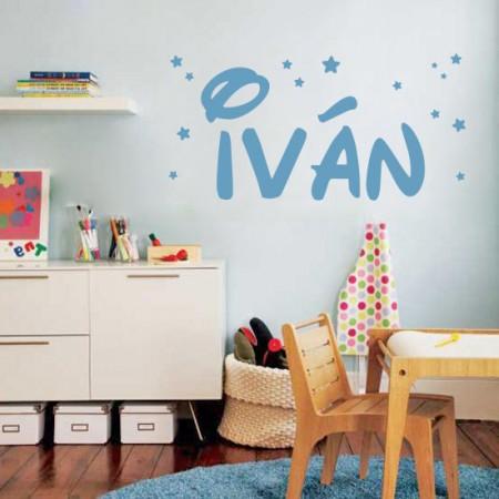 Vinilo nombre Iván