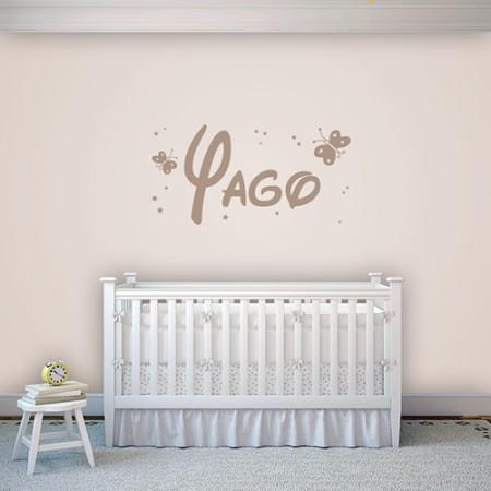 Vinilo nombre Yago