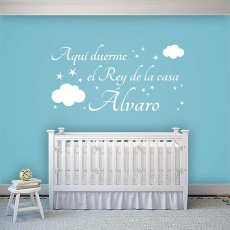 Vinilo Rey de la casa Álvaro