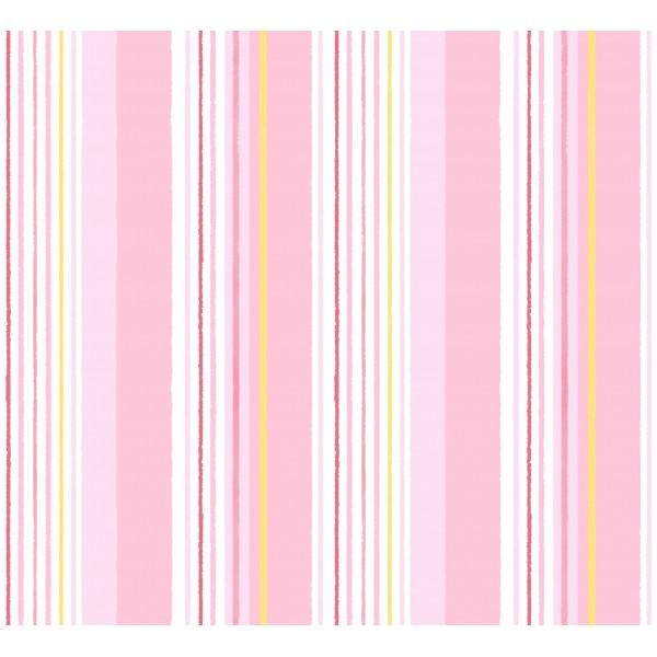 Papel pintado rayas colores tonos rosas de la colecci n - Papel pared rayas verticales ...