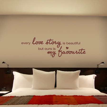 Vinilos frase Love Story